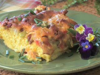 Breakfast: Easy to serve a crowd with an oven omelet
