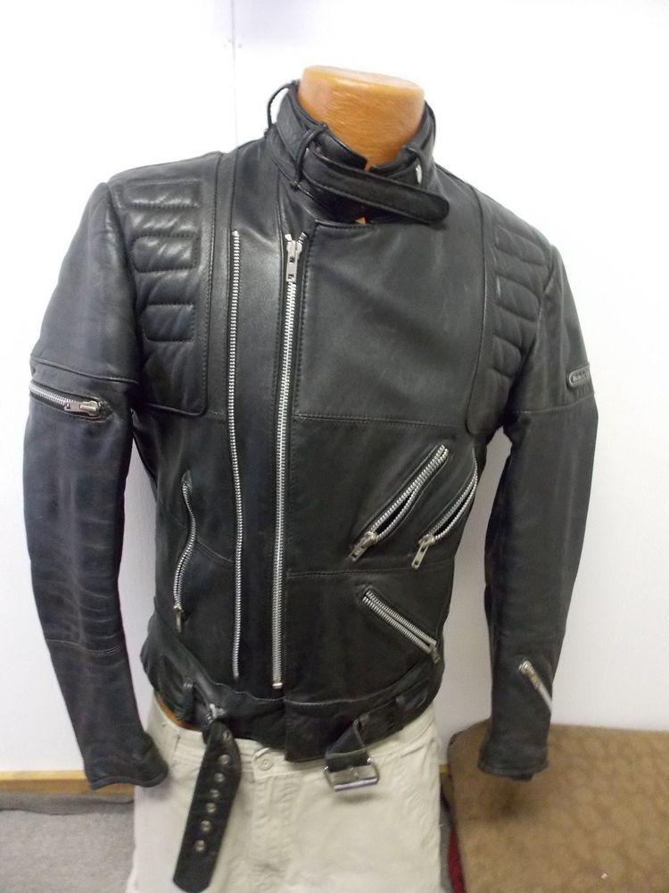 f87f94956 Vintage Leather Hein Gericke Leather Motorcycle Jacket Mens Size 42 Cafe  Racer  HeinGericke  other