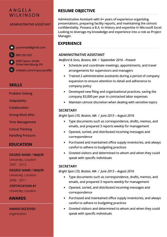 Modèle de CV en anglais gratuit à télécharger et compléter ...