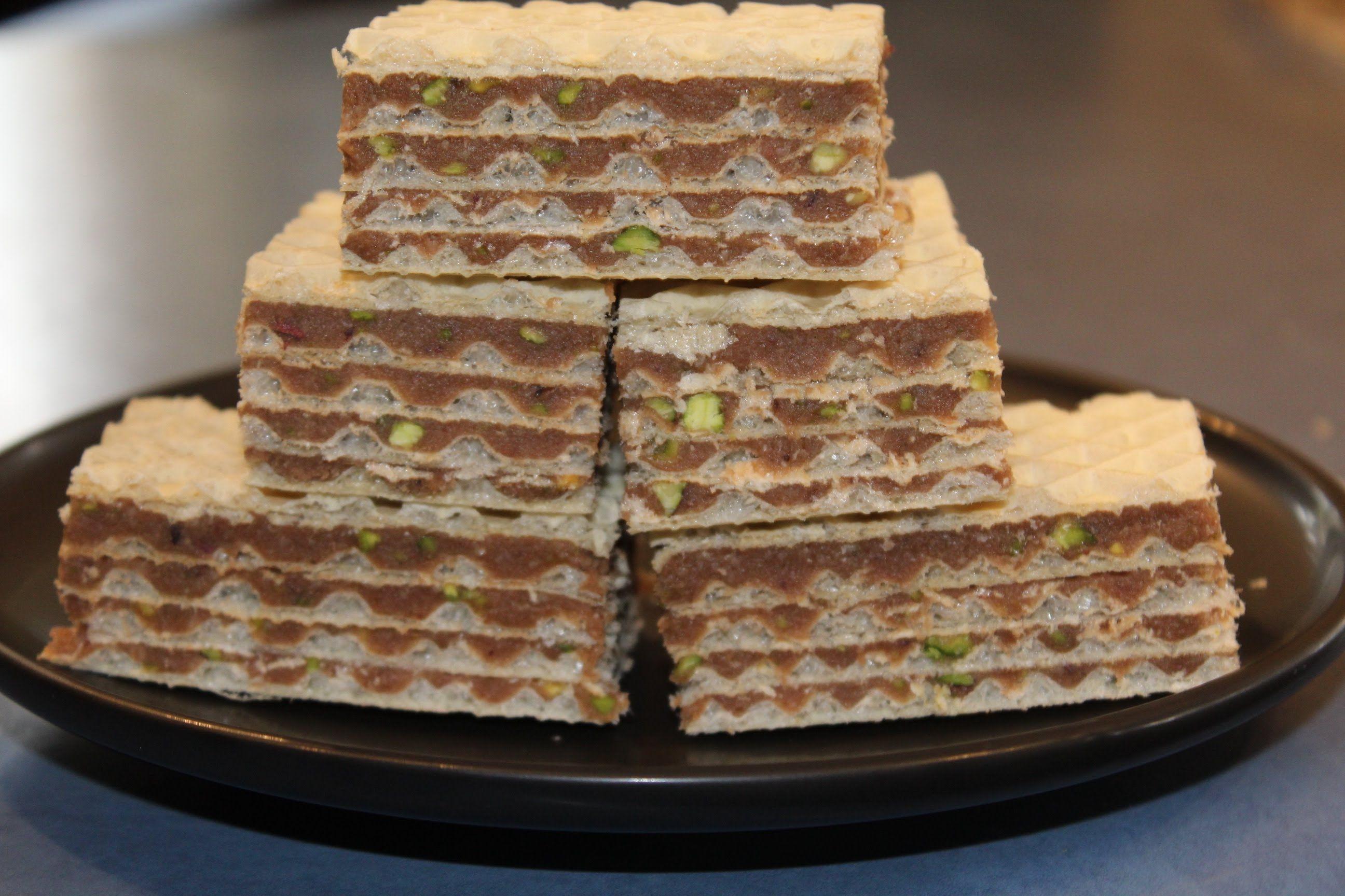 Waffle Wafer Cookies Croatian Wafer cake / ...