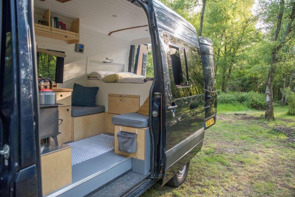 Fiver Campervan interior, Camper van conversion diy, Camper