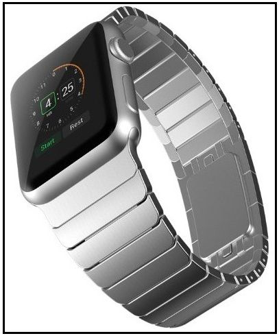 fab6aa1d441 These top nominated and review Best link Bracelet Apple Watch Bands third  party amazing to buy for 2017 let s check out 38MM 42MM for both men women
