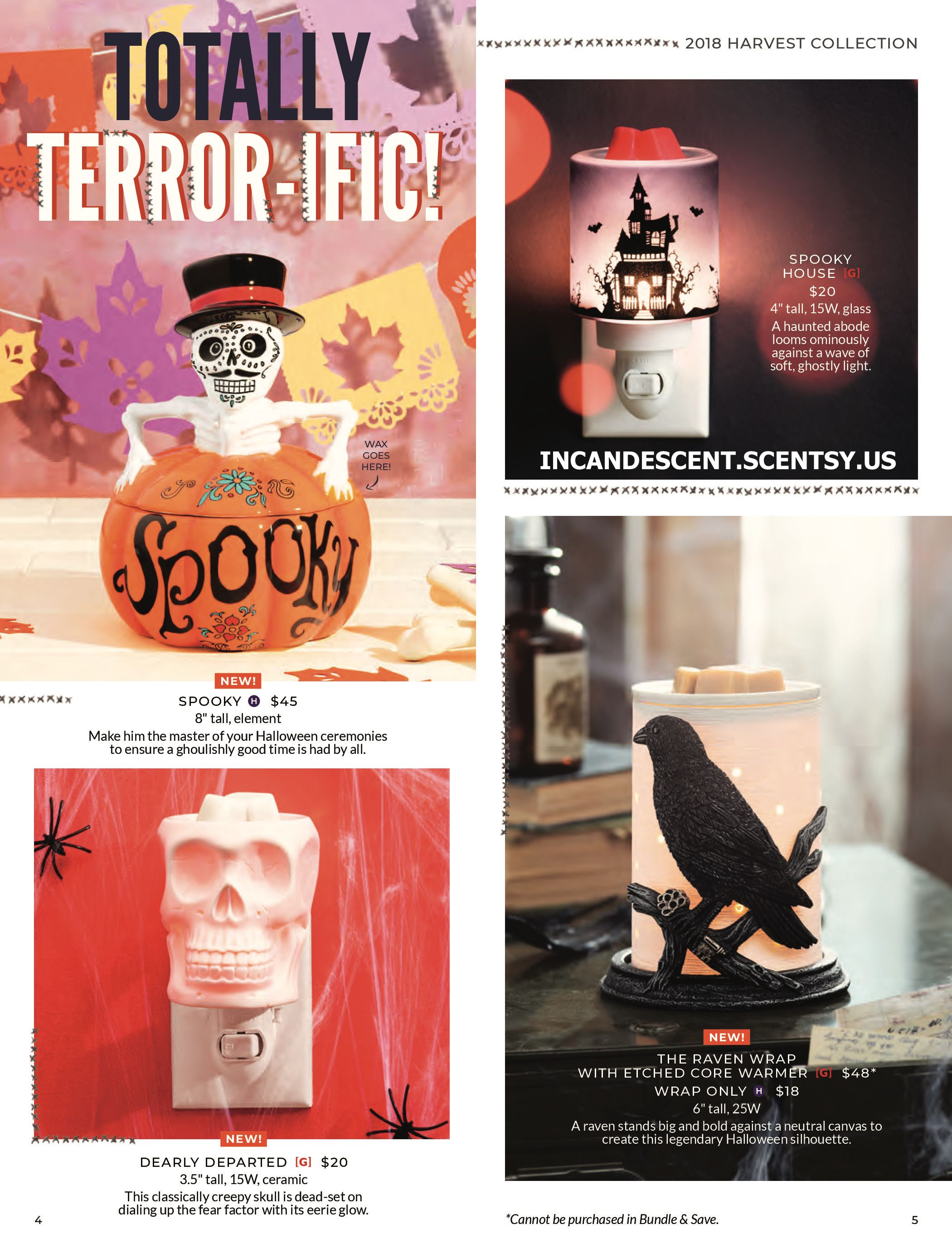 scentsy halloween harvest 2018 collection | scentsy 2018 harvest