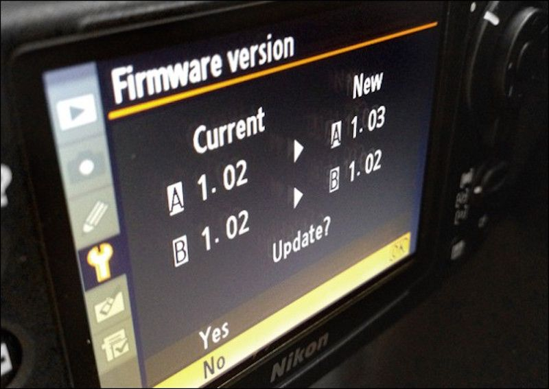 Nikon Distortion Control Data Firmware Update 2 005 Nikon D7100 Nikon D5200 Firmware