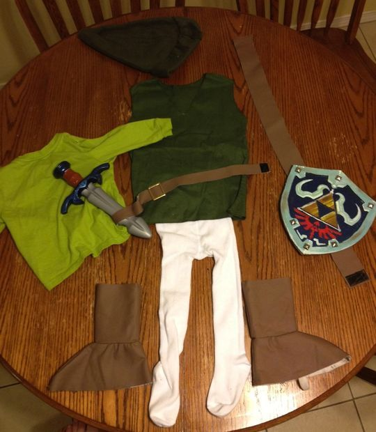 The Littlest Link- Kid Legend of Zelda Costume & The Littlest Link- Kid Legend of Zelda Costume | Pinterest ...