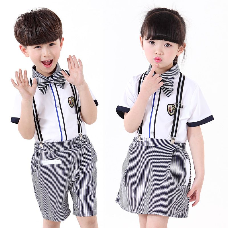6524f696cc30 School Clothes Set For Boys Girls Tennis Kids Sports Suit Summer ...