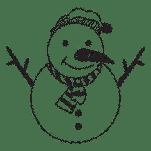 Snowman Hand Drawn Icon 58 Ad Affiliate Paid Hand Icon Drawn Snowman Hand Drawn Icons How To Draw Hands Icon
