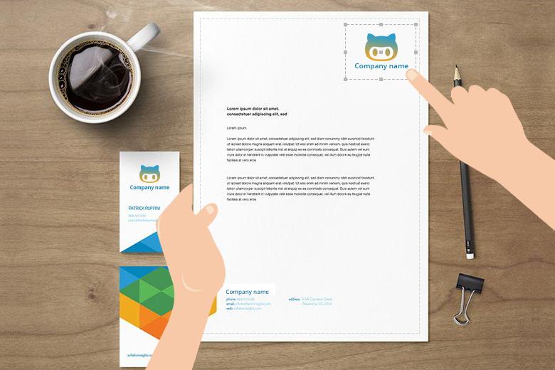 Customizable Office Stationery Online With A Letterhead Design Letterheaddesign Ecommerce Webtoprint Magento