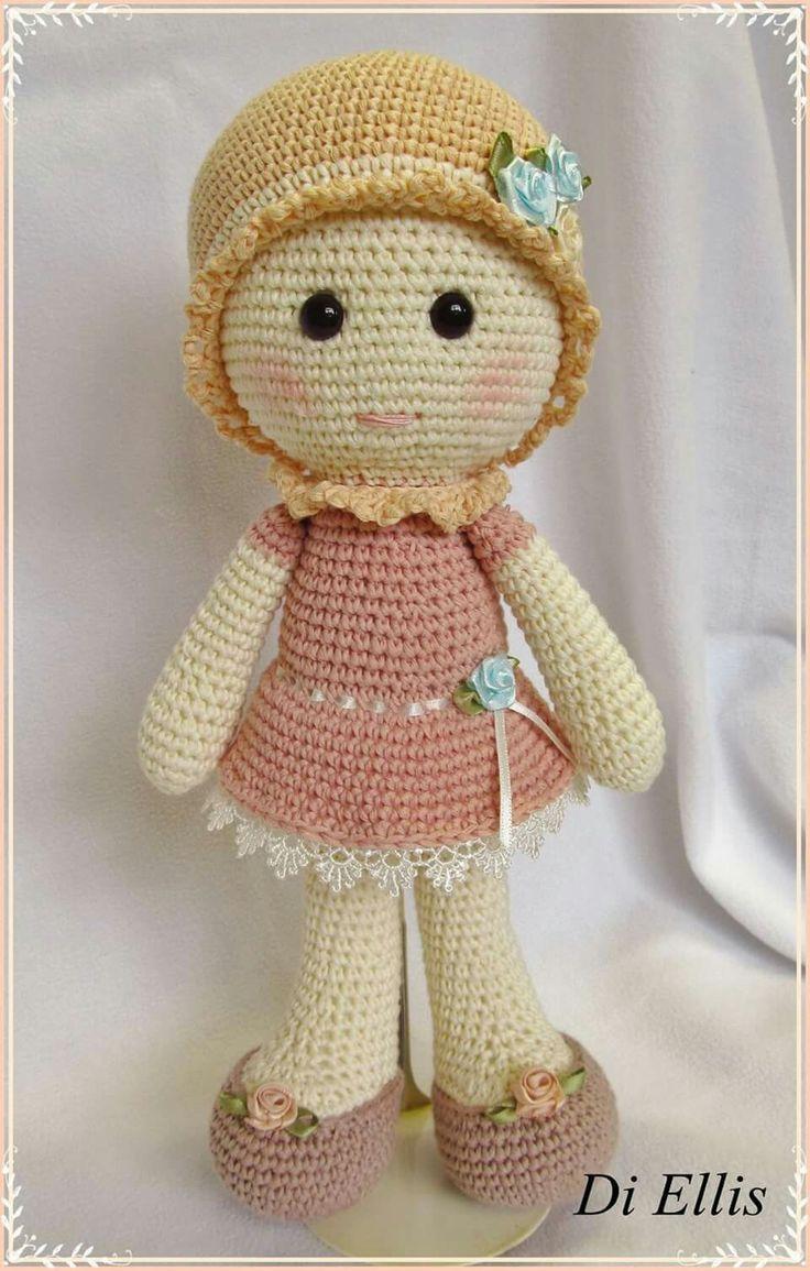 Resultado de imagem para como fazer bonecas em croche | janne bell ...