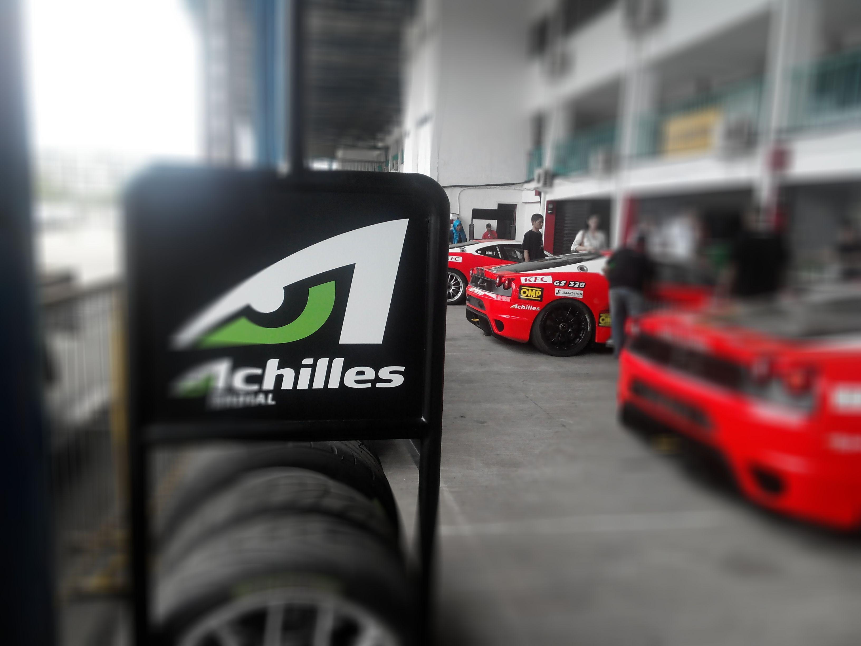 Ferrari F430 Competizione Indonesia AchillesRadial