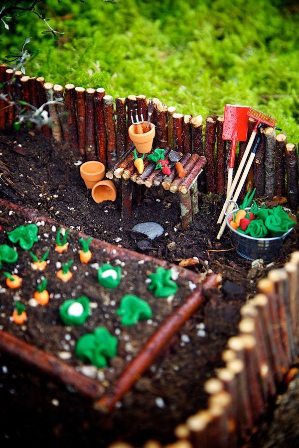 The Cutest Fairy Garden EVER #smallgardenideas