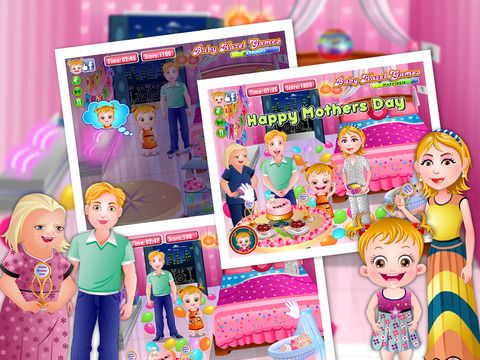 baby hazel makes her mom happy by celebrating mother s day help rh pinterest com All Baby Hazel Games Baby Hazel Games Online