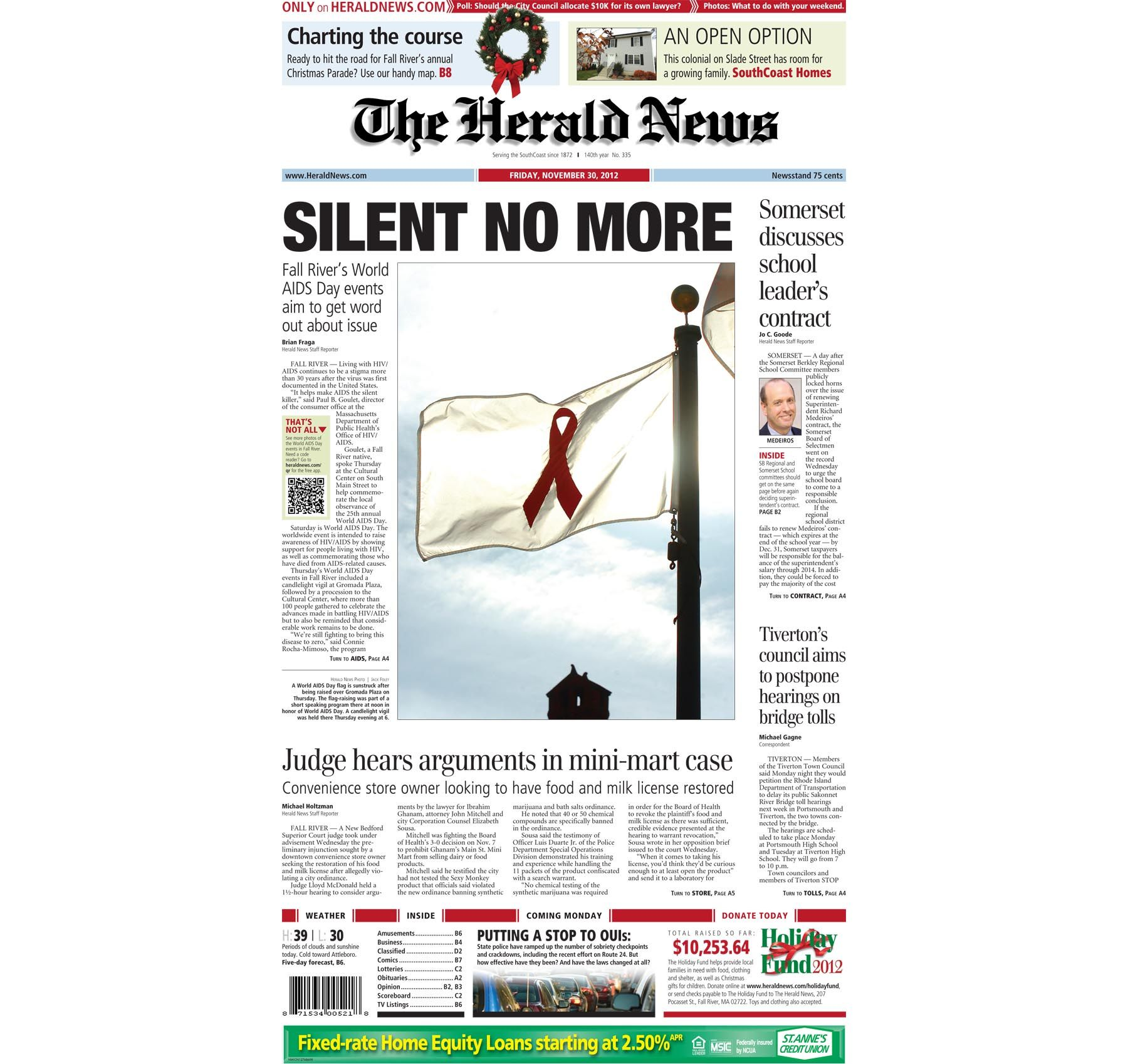 Pin On Herald News Front Pages
