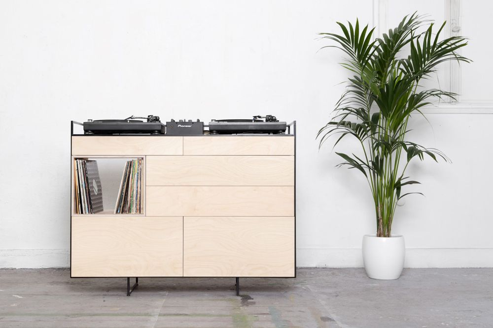 Selectors Cabinet DJ furniture balances aesthetics and ...