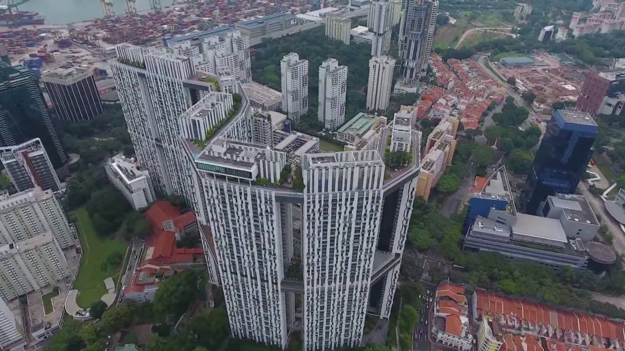 Singapore Tanjong Pagar View Dji Phantom 4 Dji Phantom 4