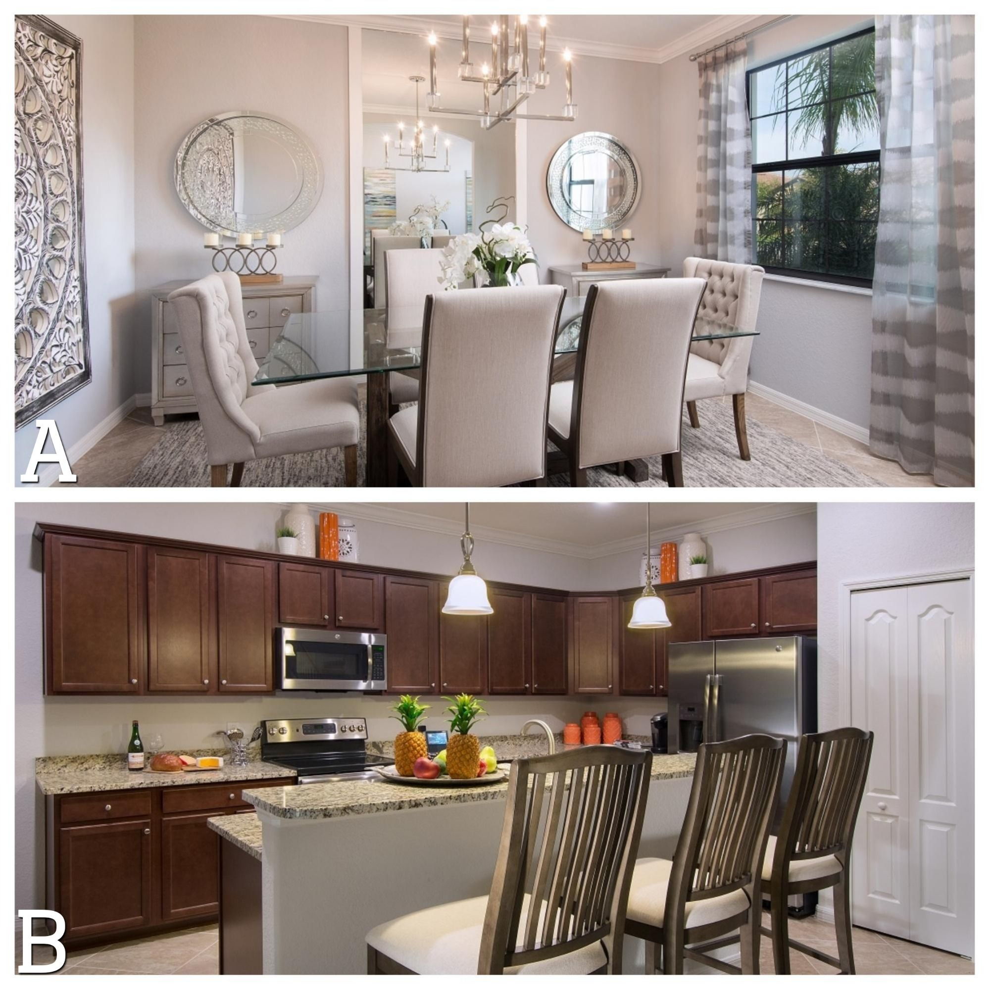 Do you prefer a more formal or casual dining setting? A ...