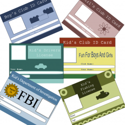 This page features fun, free printable ID cards and licenses for ...