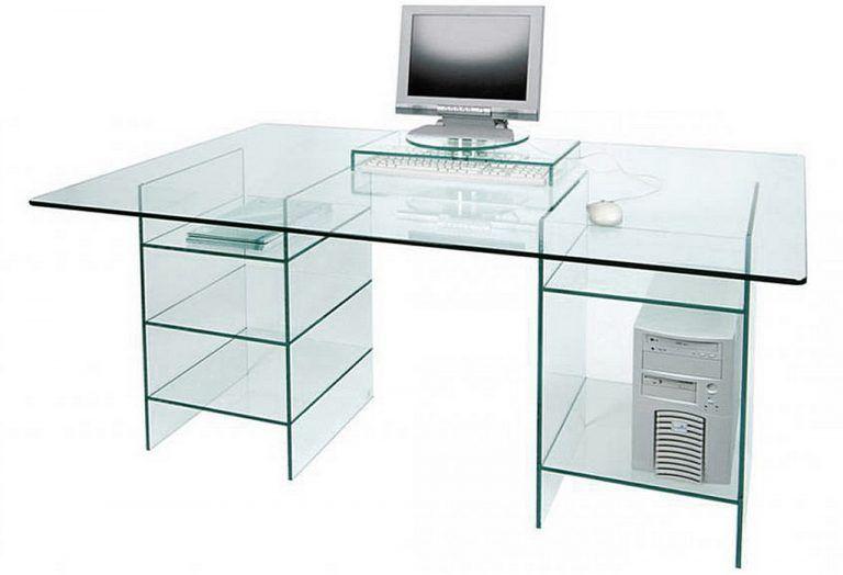 Image Of Table Computer Desk Glass Computer Desk With Shelves Design Tuxglqh Furnish Ideas Arquitetura E Design Moveis Design