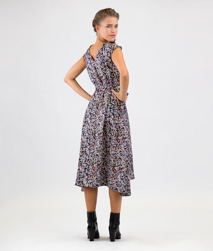 Sewing Pattern Dress Luna | Schnittmuster kleid und Schnittmuster