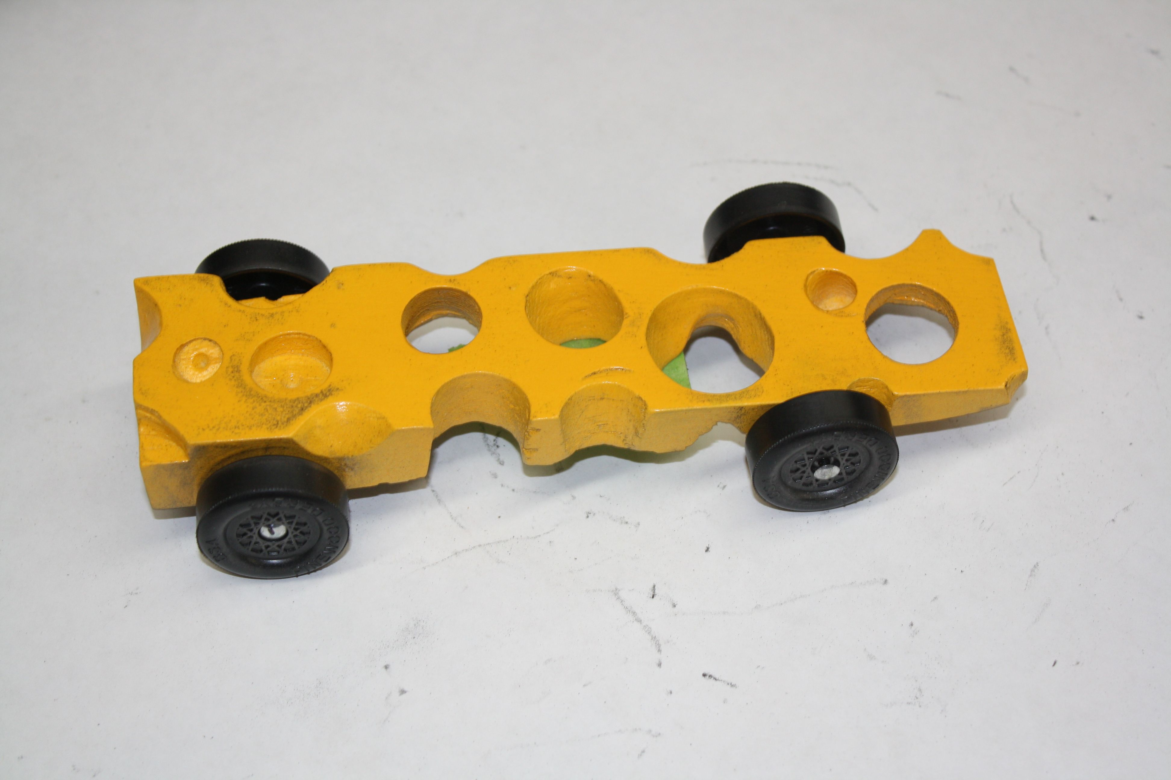 Swiss Cheese Tier Series Pinewood Derby Car | Cub Scout Pinewood ...