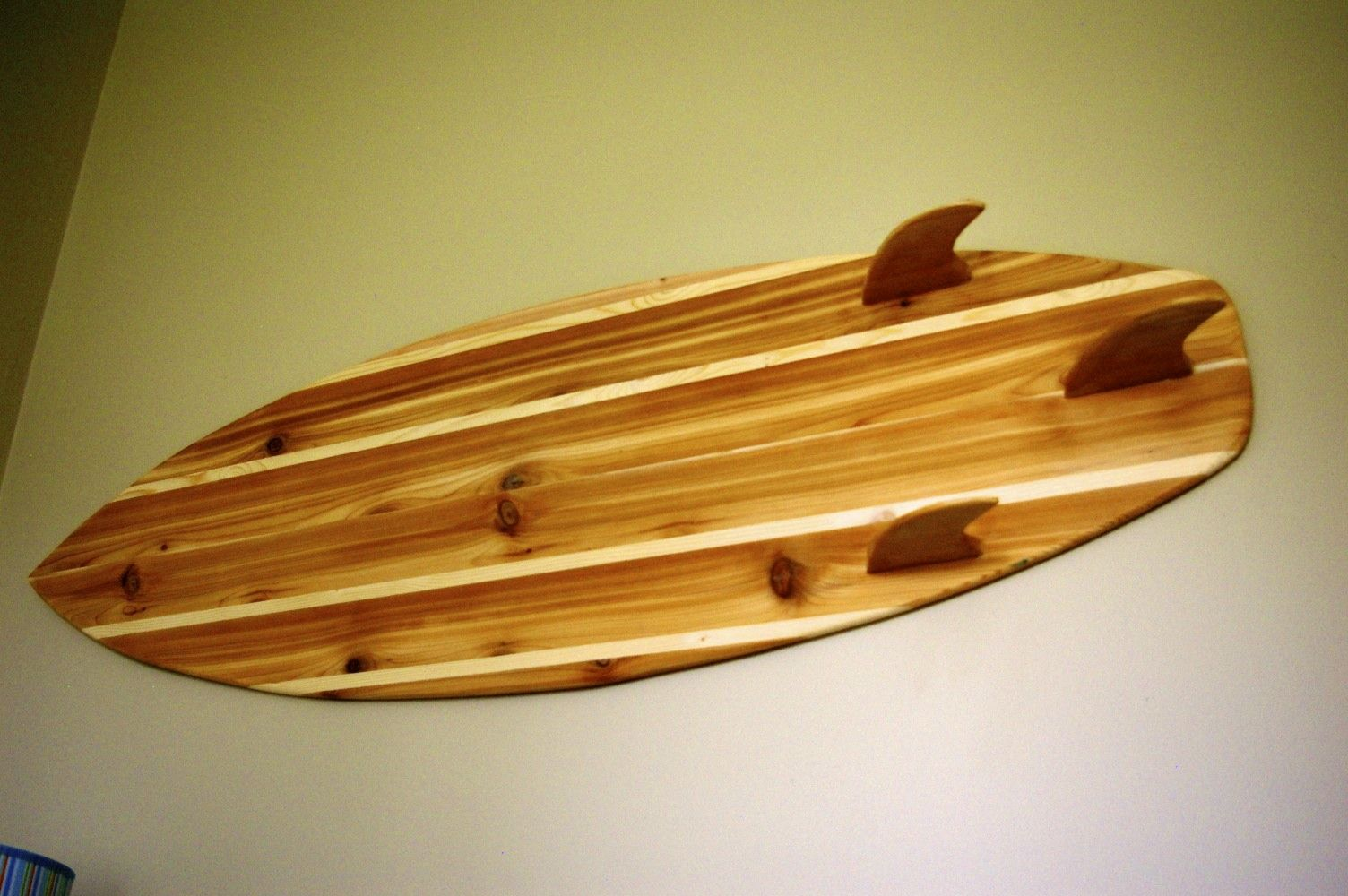 Handmade 4ft Cedar Surfboard Hanging wall decor. | Surf | Pinterest ...