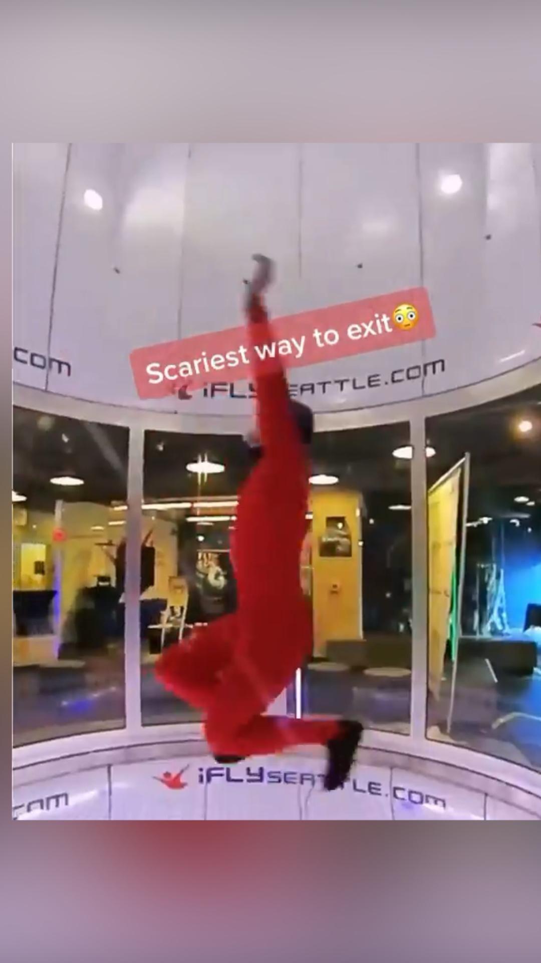 smooth exit ✌️ {🎥 @eggsandblaken}