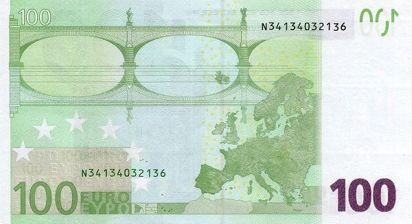 Matawang Latvia Bank Notes Euro Editorial Photography