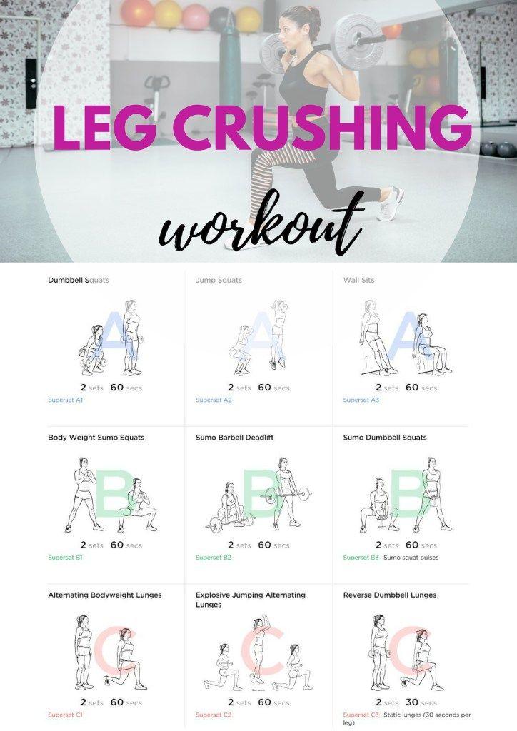 Leg Crushing Workout