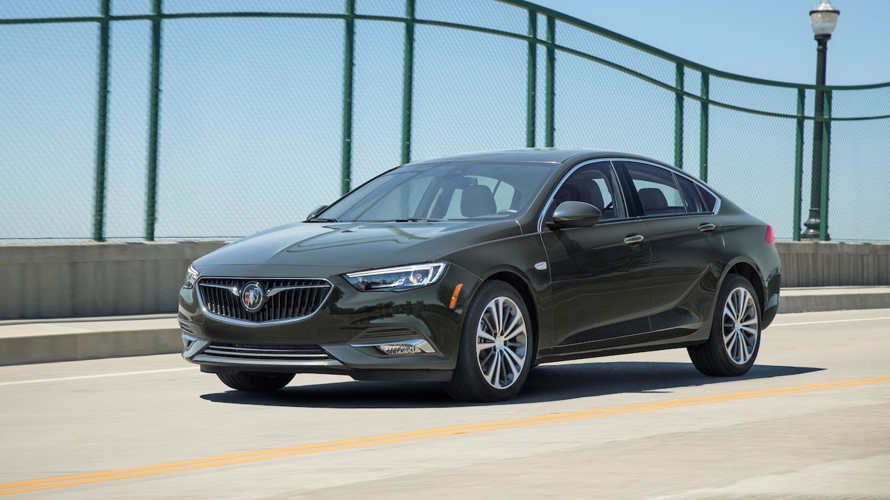 2019 Regal Sportback Mid Size Luxury Sedan Exterior Buick Regal Buick Regal Gs Buick