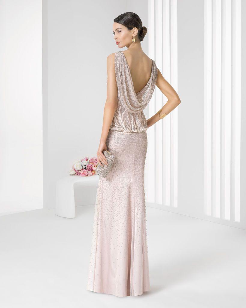 Comprar vestidos de fiesta rosa clara