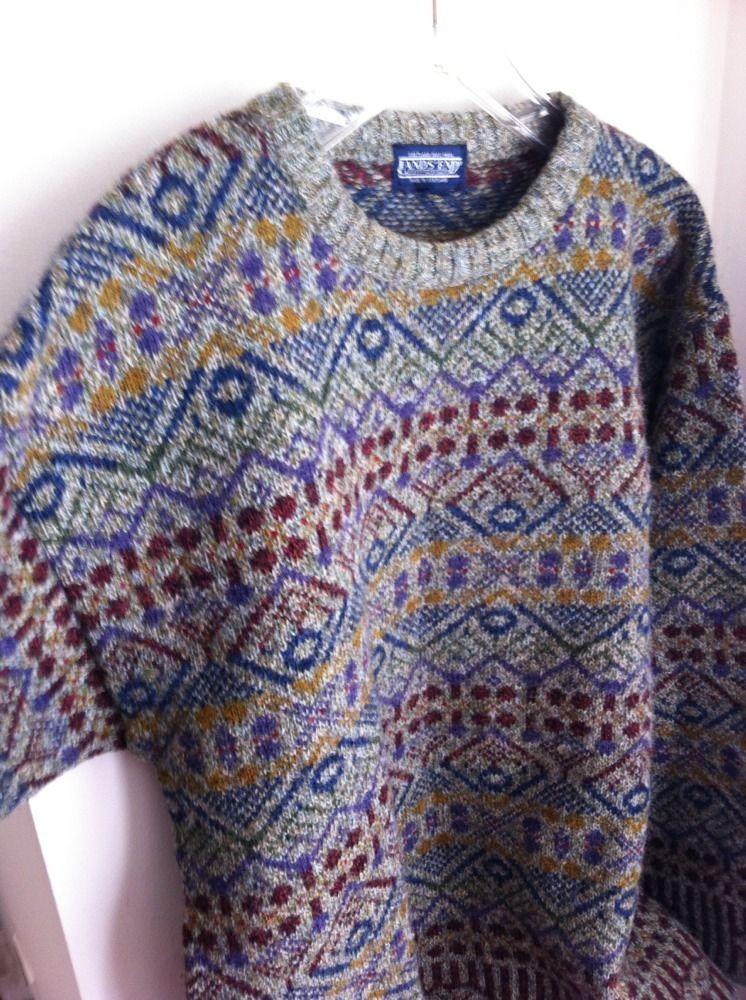 Lands End - Fair Isle Shetland Wool Sweater | Sartorial - My ...