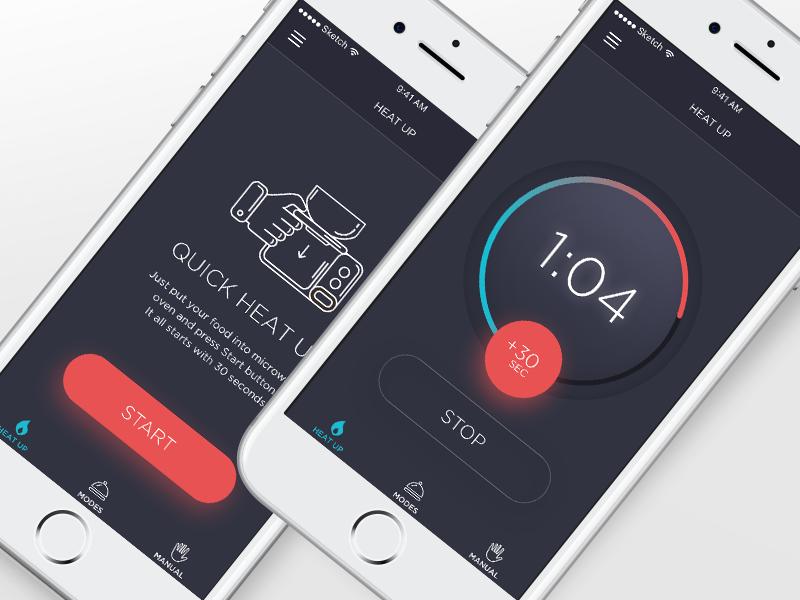 Wave Control App Concept App, Concept, App design