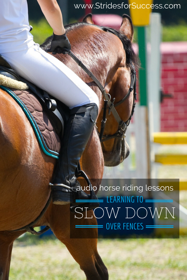Practical exercises for horses that rush at jumps and fences | Audio Horse Ridin...