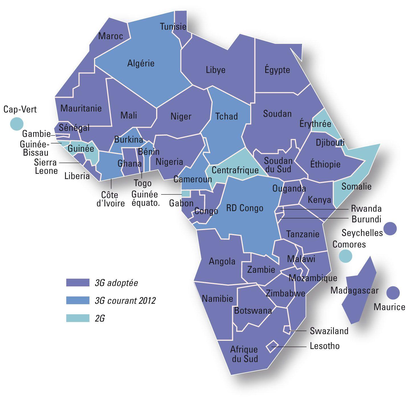 seychelles carte du monde Carte Afrique | Carte afrique