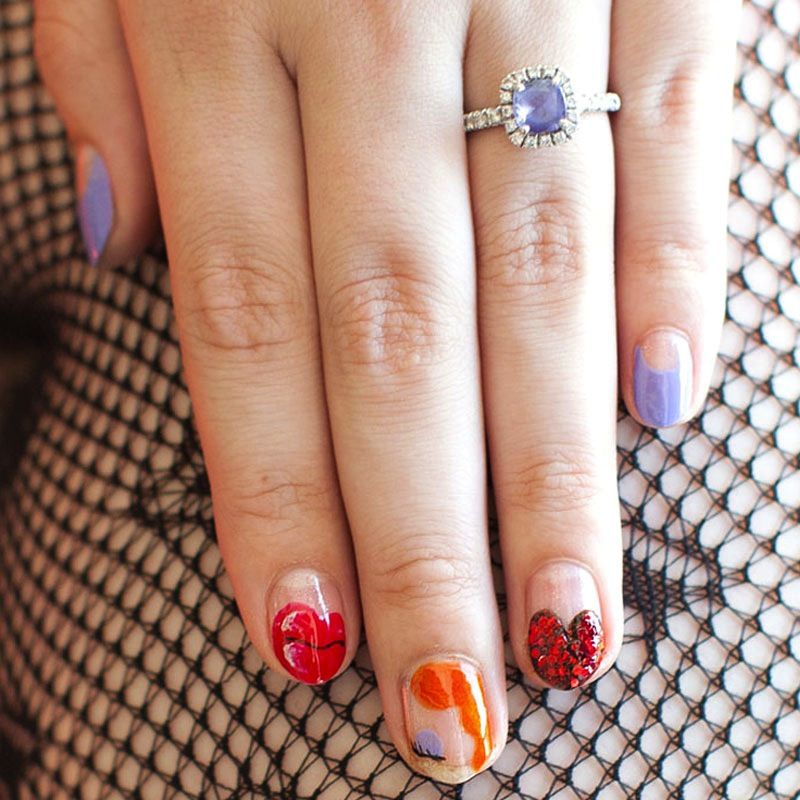 10 Super Chic Halloween Nail Art Ideas   Jessica rabbit, Disney ...