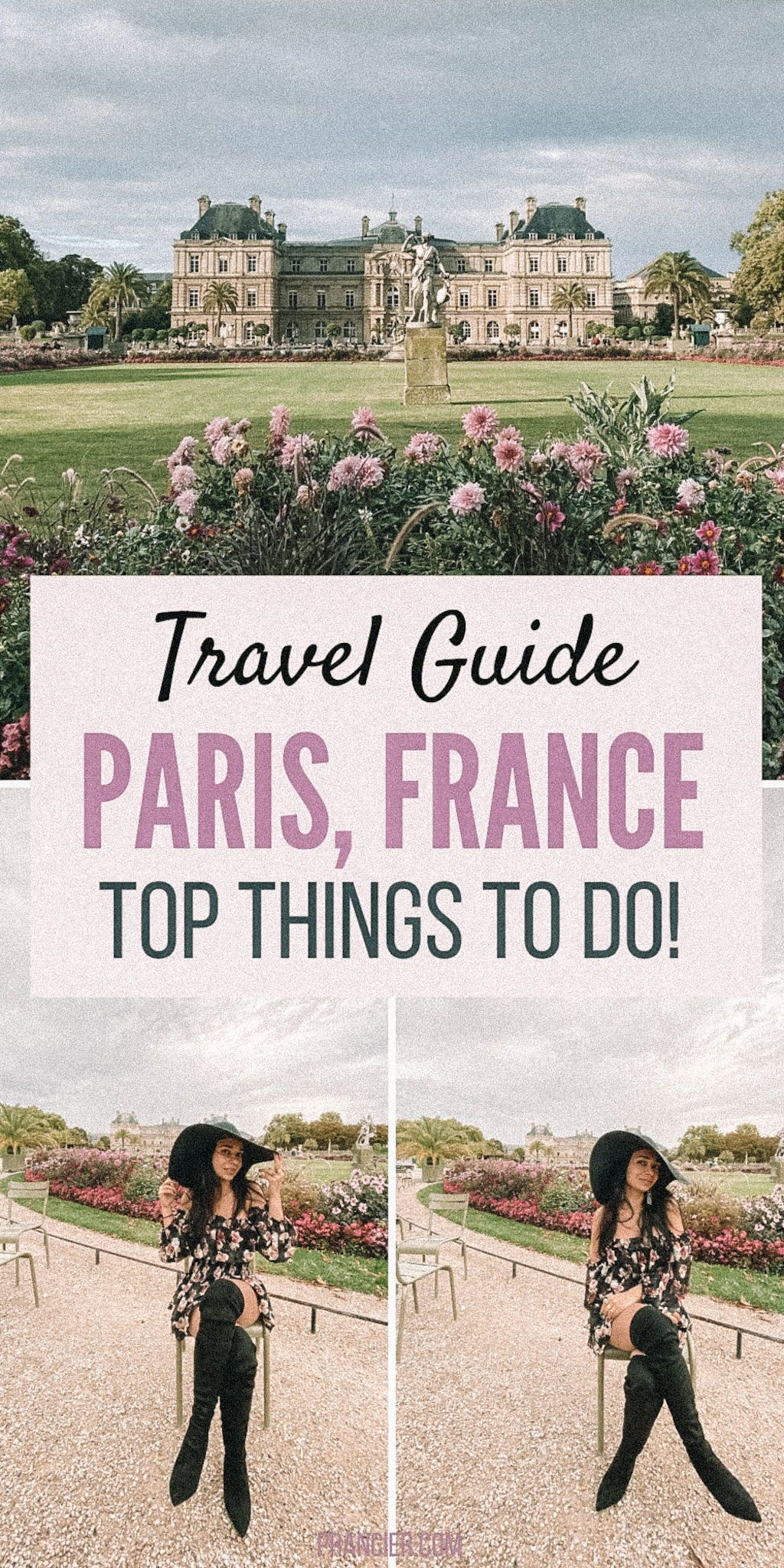 Check this Paris Travel Guide with the top things to do in Paris + Paris Travel tips. Read on to discover the must see places to visit in Paris, the best Paris food and Eiffel Tower Travel Tips. This is the Perfect Paris Travel Itinerary for 2-3 days. What to do in Paris | Paris Travel Itinerary | Beautiful Paris photo spots | Paris Travel Tips for your first time | #paris #paristravel #thingstodoinparis #parisfrance #parisfrancetravel #travel #prancier