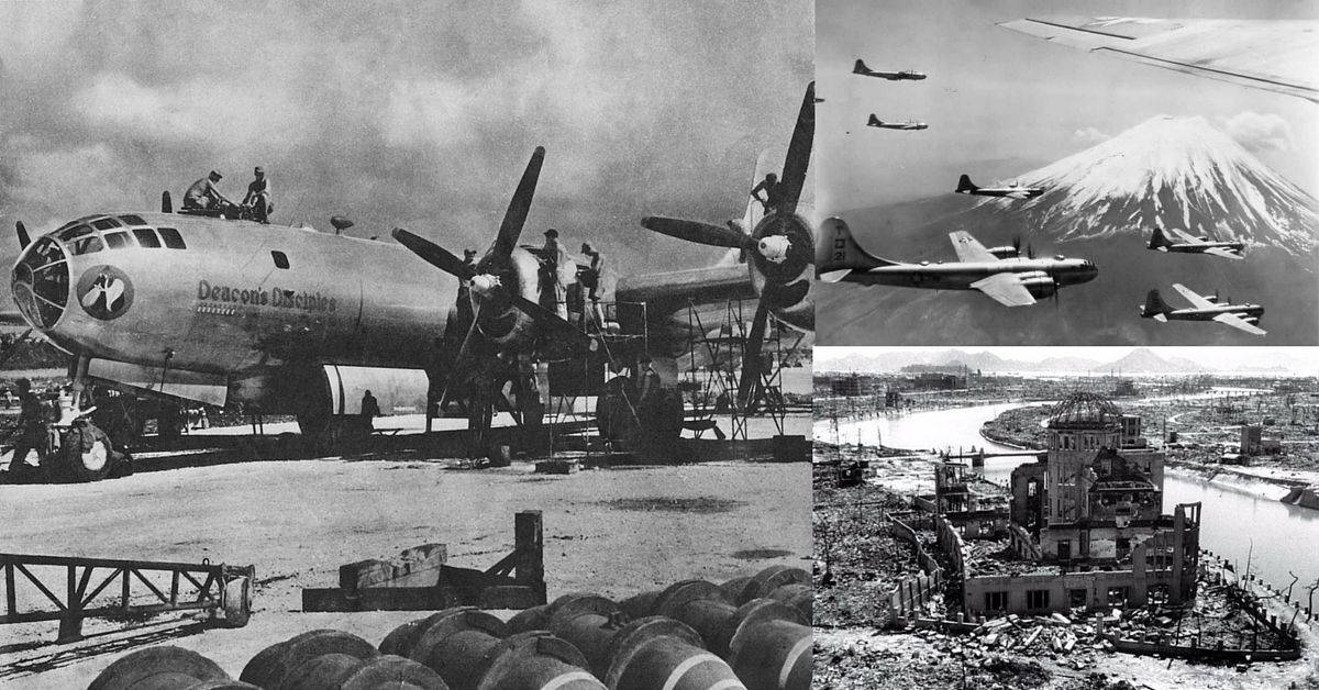 """warhistoryonline: """"MARIANAS, THAT B-29'S FIXED AIRCRAFT CARRIER IN THE PACIFIC WAS BUILT 72 YEARS AGO. http://dlvr.it/LbT6mC """""""