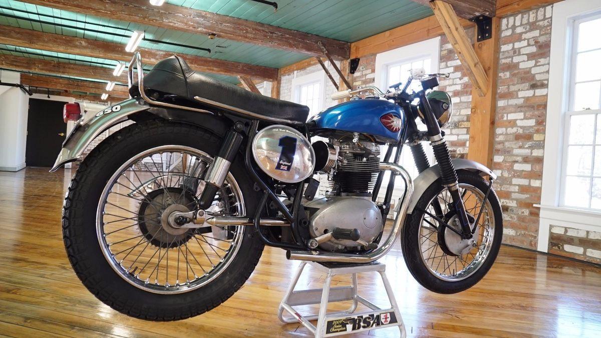 1972 bsa a65 lightning for sale via rockerco