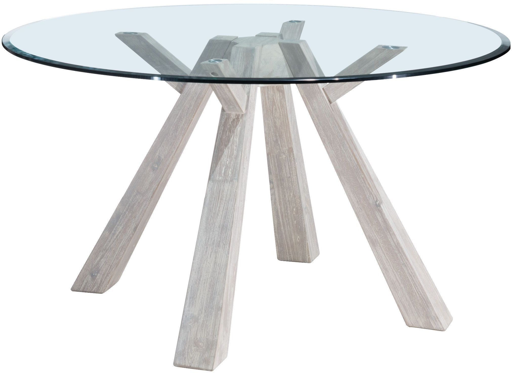 Https://colemanfurniture.com /beaumont Sun Drenched Acacia Stainless Steel Round Dining Table.htm