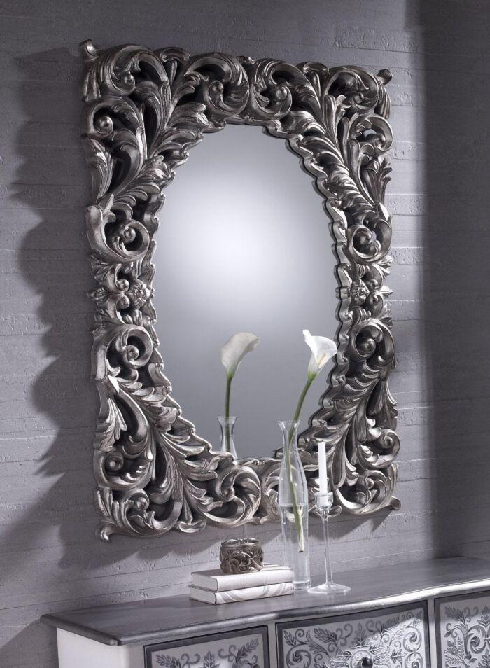 Espejos cl sicos r sticos y barrocos espejo class for Espejos decorativos dorados
