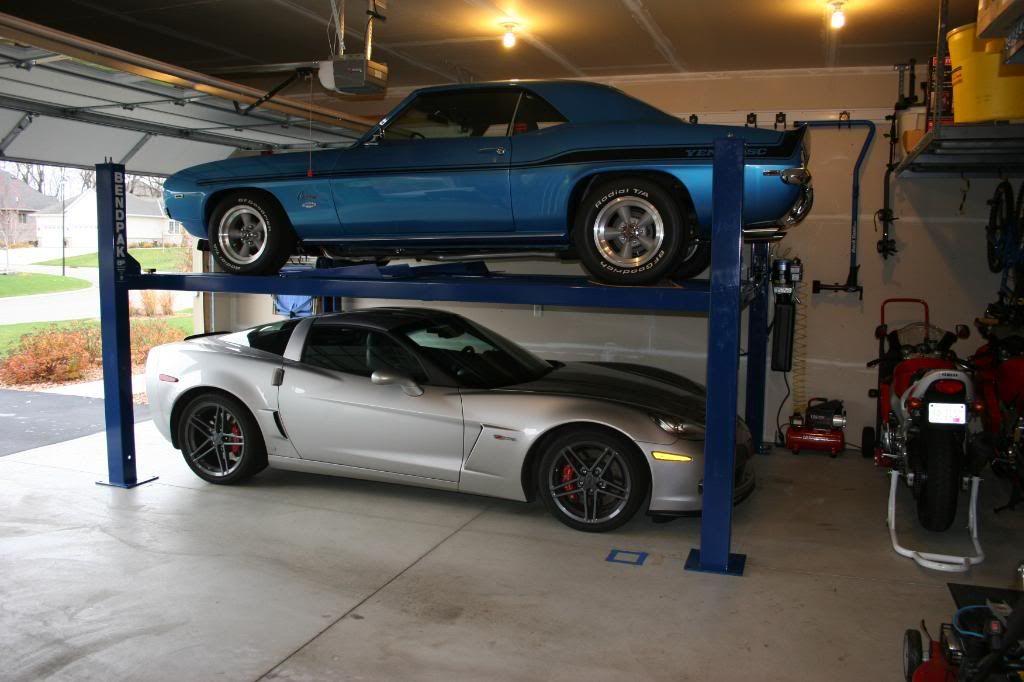 We find better custom garage parking storage solutions for Residential garage car lift