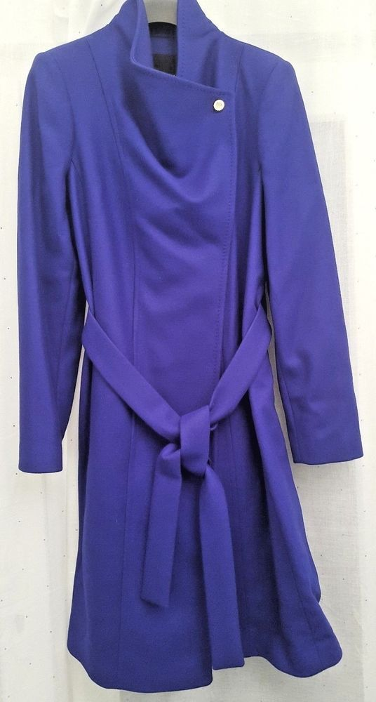 f1349a896 TED BAKER TED 4 UK 14 BLUE LORILI CASHMERE   WOOL MIX COAT BNWT  fashion   clothing  shoes  accessories  womensclothing  coatsjacketsvests (ebay link)