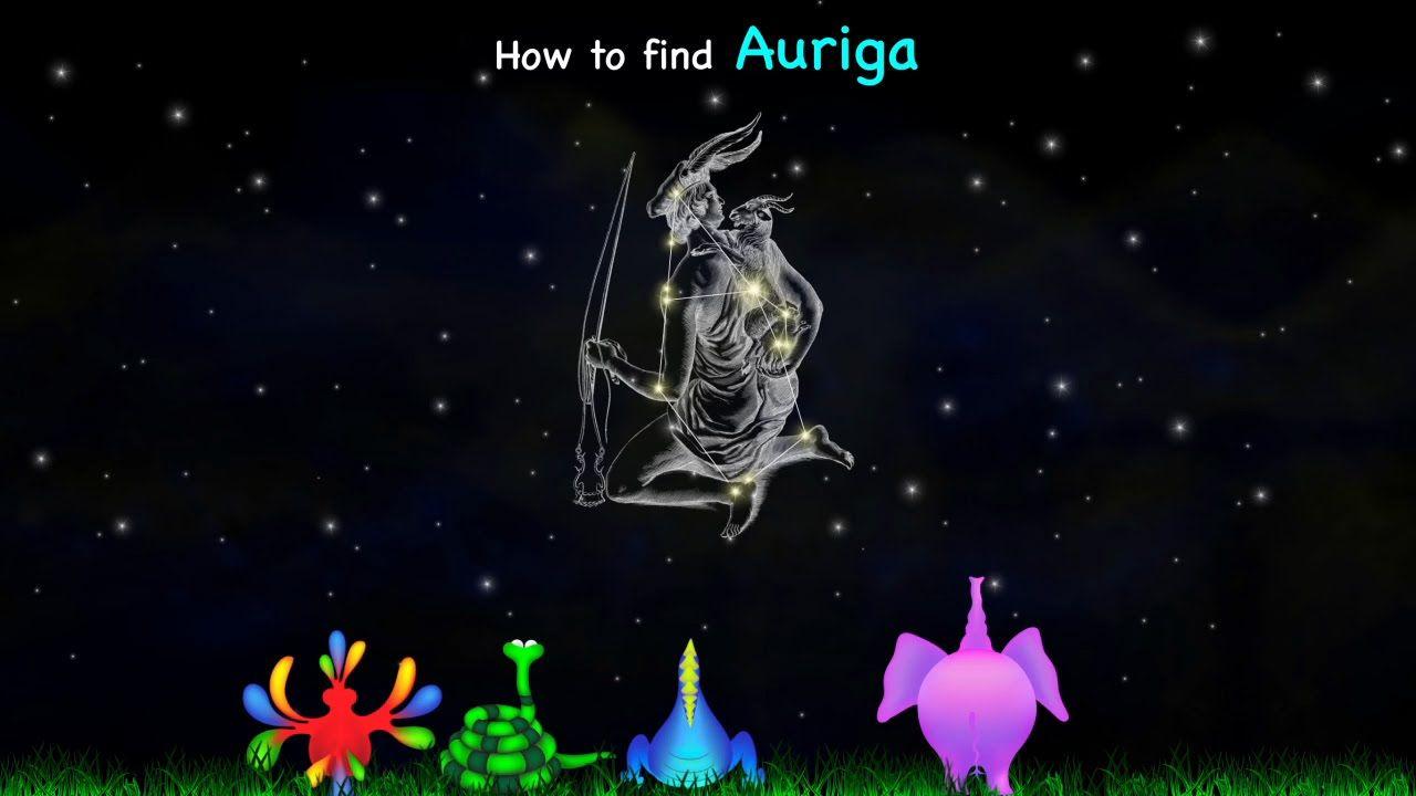 How to find auriga charioteer constellation kiwaka