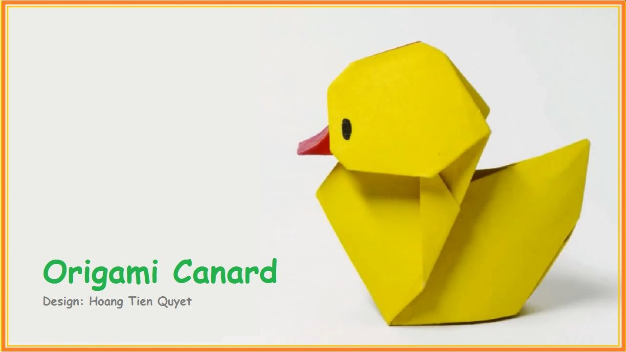 Origami Facile Animaux Origami Canard Origami Origami Origami