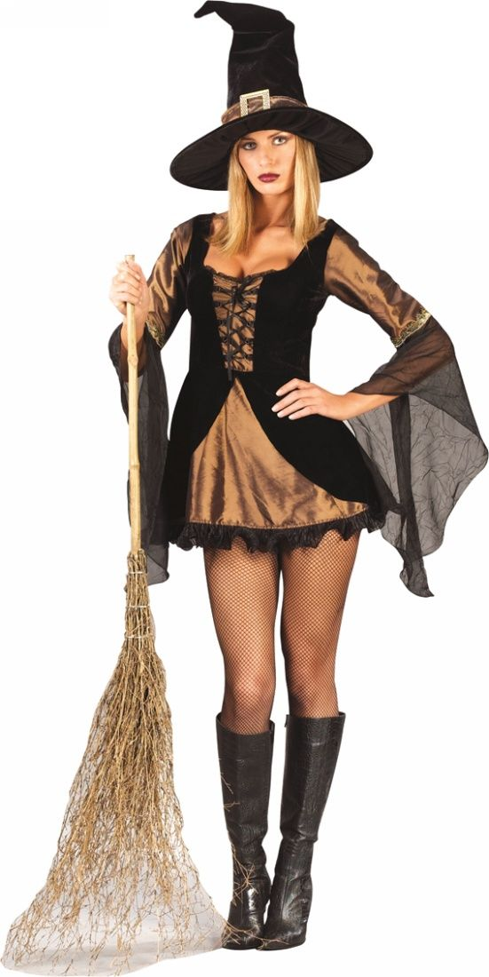 Sweet u0026 Sexy Witch Adult Costume  sc 1 st  Pinterest & Sweet u0026 Sexy Witch Adult Costume | Witchy Costumes for Girls and ...