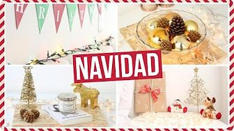 ideas para decorar mi cuarto en navidad - YouTube