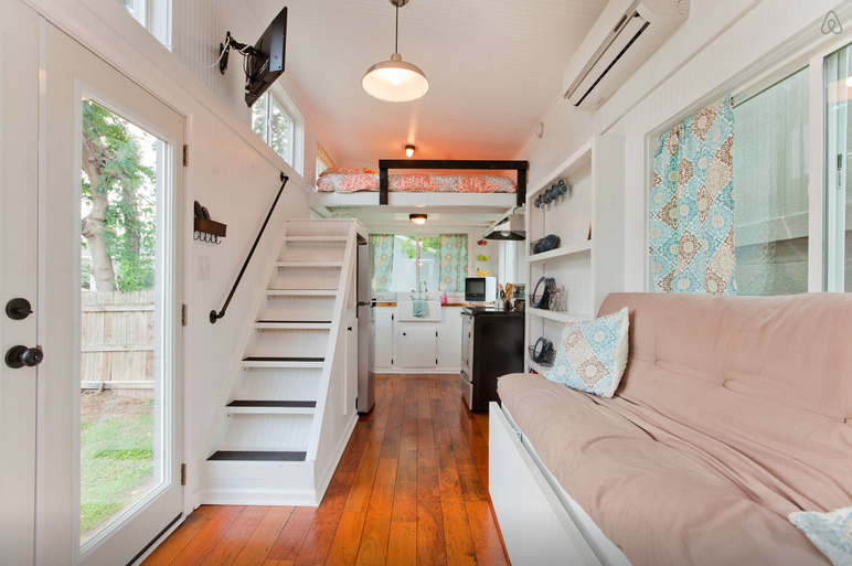 How to avoid having a ladder in your tiny house