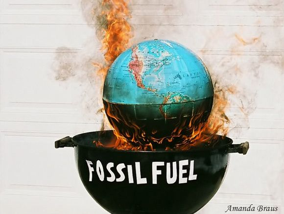 Fossil Fuel Poster Global Warming Poster Global Warming