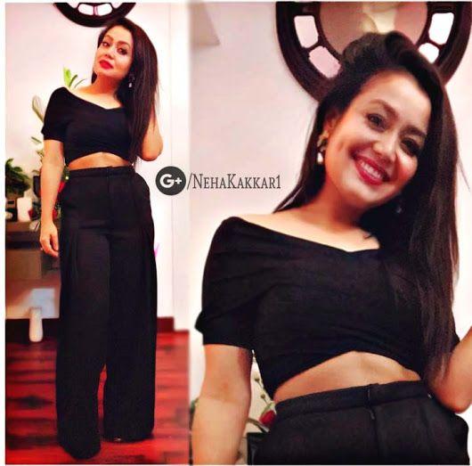 Sign In Neha Kakkar Dresses Indian Designer Wear Black Dress