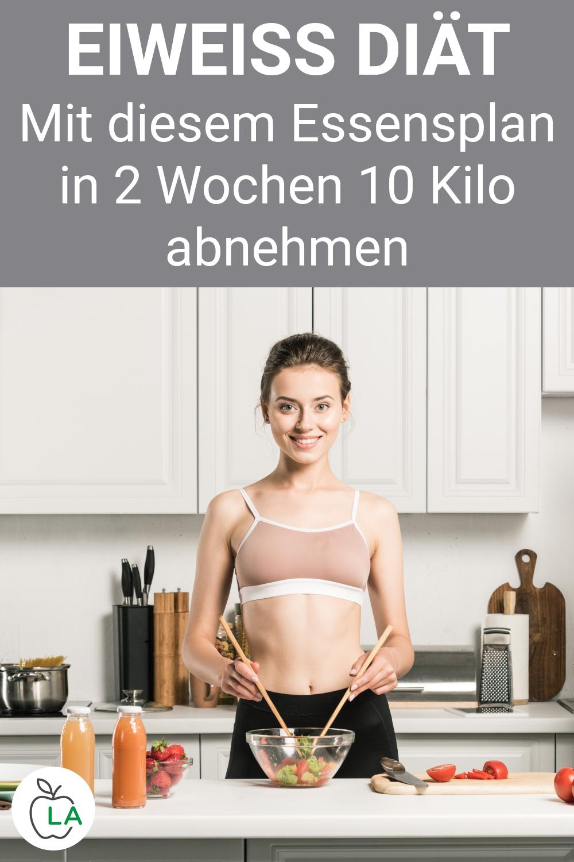 wie viel kilo kann man mit eiweißdiät abnehmen